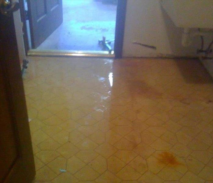 Water Damage in Deltona, FL Before