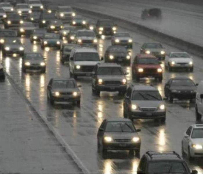 Community Driving On Wet Roads