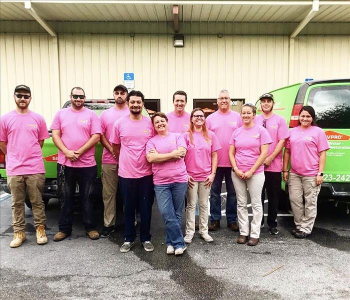 Community SERVPRO of North Seminole Goes Pink